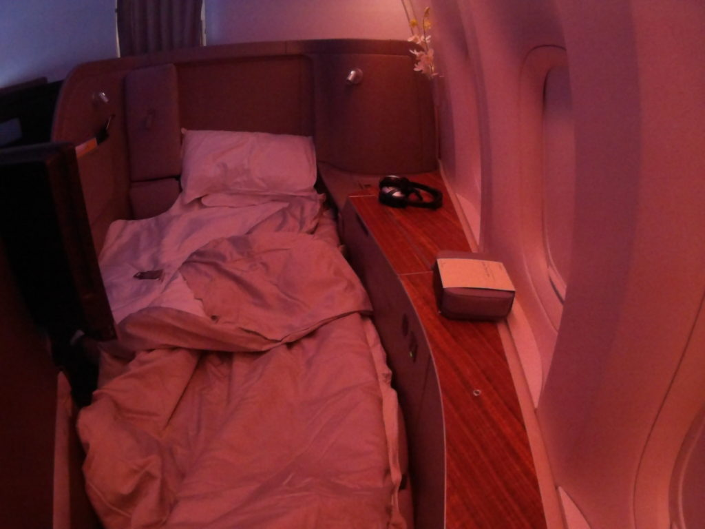 CathayPacific First Class: Zurich HongKong